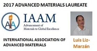 Luis Liz-Marzán, premio 2017 Advanced Materials Laureate